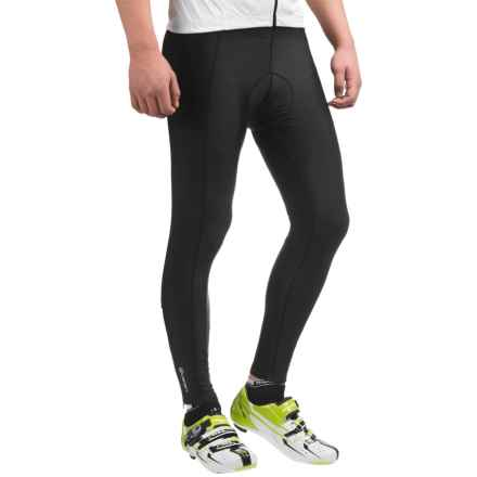 Canari Gel Cycling Tights (For Men) in Black - Closeouts