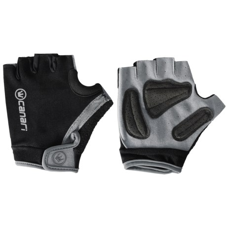 Canari Gel Xtreme Cycling Gloves (For Men) in Black