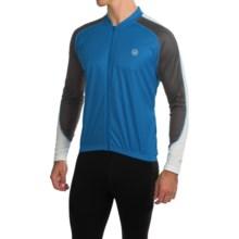 Canari Hammer Core Cycling Jersey - Long Sleeve (For Men) in Breakaway Blue - Closeouts