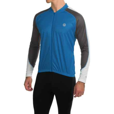 Canari Hammer Core Cycling Jersey - Long Sleeve (For Men) in Breakaway Blue - Closeouts