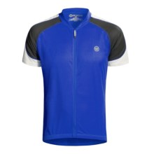 Canari Hammer Cycling Jersey - Short Sleeve (For Men) in Sapphire - Closeouts