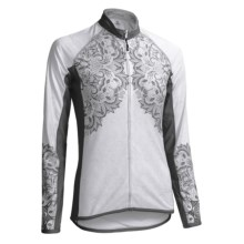 Canari Hathaway Cycling Jersey - Full Zip, Long Sleeve (For Women) in Grey - Closeouts