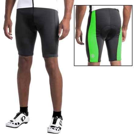 Canari HiViz Cycling Shorts (For Men) in Glowstick Green - Closeouts
