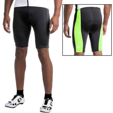 Canari HiViz Cycling Shorts (For Men) in Killer Yellow - Closeouts