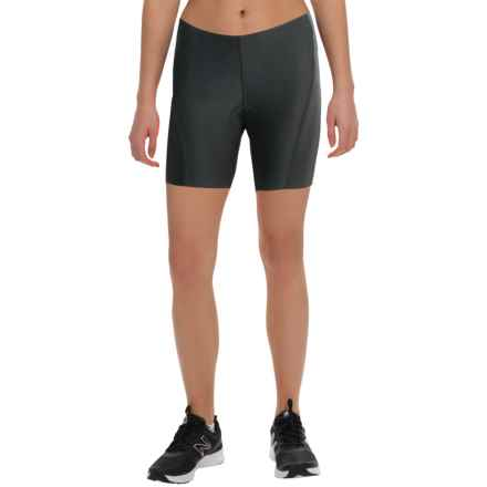 Canari Hybrid Plus Cycling Shorts (For Women) in Black - Closeouts