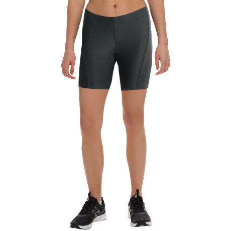 Canari Hybrid Plus Cycling Shorts (For Women) in Black