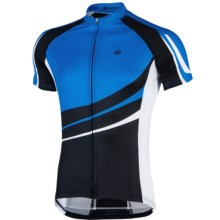 Canari Klipspringer Cycling Jersey - UPF 30+, Short Sleeve (For Men) in Breakaway Blue - Closeouts