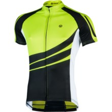 Canari Klipspringer Cycling Jersey - UPF 30+, Short Sleeve (For Men) in Killer Yellow - Closeouts