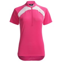 Canari Marquis Cycling Jersey - Short Sleeve (For Women) in Blossom - Closeouts