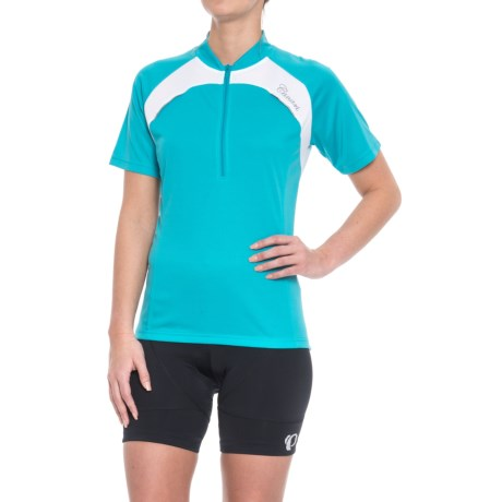Canari Marquis Cycling Jersey - Short Sleeve (For Women) in Turquoise