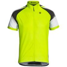 Canari Merano Cycling Jersey - Short Sleeve (For Men) in Killer Yellow - Closeouts