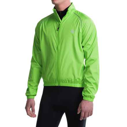 Canari Microlyte Shell Jacket - Windproof (For Men) in Ecto Green - Closeouts