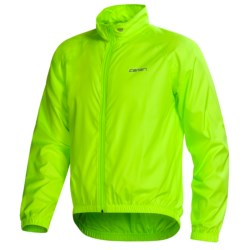 Canari Microlyte Shell Jacket - Windproof (For Men) in Killer Yellow