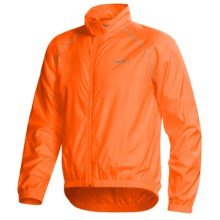 Canari Microlyte Shell Jacket - Windproof (For Men) in Solar Orange - Closeouts