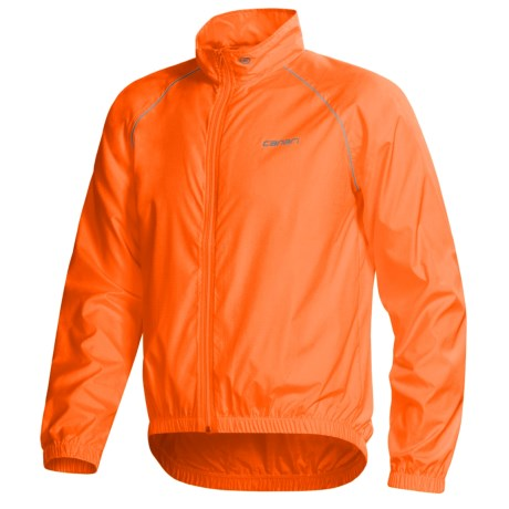 Canari Microlyte Shell Jacket - Windproof (For Men) in Solar Orange