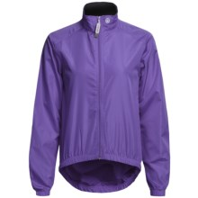 Canari Microlyte Shell Jacket - Windproof (For Women) in Iris - Closeouts