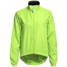 Canari Microlyte Shell Jacket - Windproof (For Women) in Killer Yellow - Closeouts