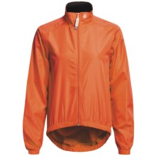Canari Microlyte Shell Jacket - Windproof (For Women) in Solar Orange - Closeouts