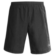Canari Mountain Trail Gel Baggy Shorts (For Men) in Black - Closeouts