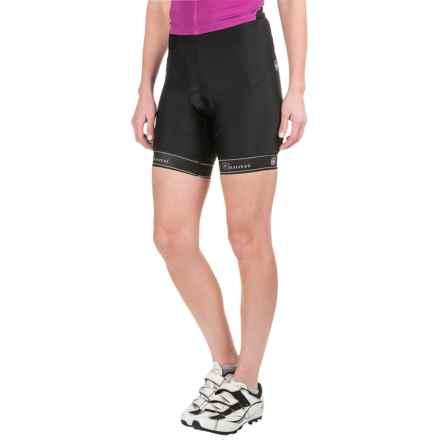 Canari Mulan Cycling Shorts (For Women) in Black - Closeouts