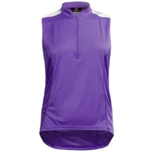 Canari Mystic Cycling Tank Top (For Plus Size Women) in Iris - Closeouts