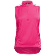 Canari Mystic Cycling Tank Top (For Plus Size Women) in Panther Pink - Closeouts