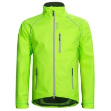 Canari Niagara Cycling Jacket (For Men) in Killer Yellow - Closeouts