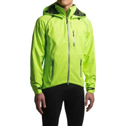 Canari Niagara Extreme Cycling Jacket - Waterproof (For Men) in Killer Yellow - Closeouts