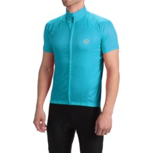 Canari Optic Nerve Cycling Jersey - Short Sleeve (For Men) in Electric Blue - Closeouts