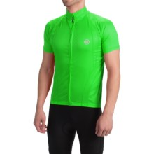 Canari Optic Nerve Cycling Jersey - Short Sleeve (For Men) in Glowstick Green - Closeouts
