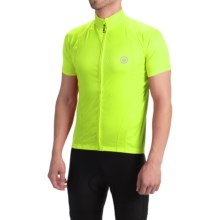 Canari Optic Nerve Cycling Jersey - Short Sleeve (For Men) in Killer Yellow - Closeouts