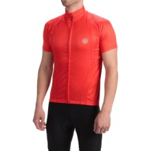 Canari Optic Nerve Cycling Jersey - Short Sleeve (For Men) in Red Hot - Closeouts