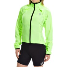 Canari Optima Convertible Cycling Jacket - Detachable Sleeves (For Women) in Killer Yellow - Closeouts