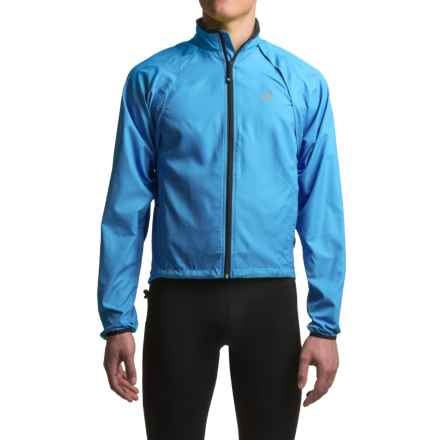 Canari Optimo Cycling Jacket - Convertible (For Men) in Azure Blue - Closeouts