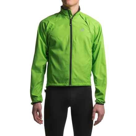 Canari Optimo Cycling Jacket (For Men) in Ecto Green - Closeouts