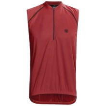 Canari P2 Tank Top Cycling Jersey - Zip Neck (For Men) in Crimson - Closeouts