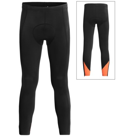 Canari Pro Elite Echelon Cycle Tights (For Men) in Solar Orange