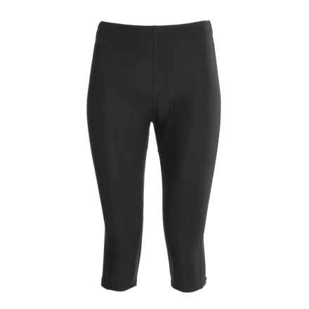 Canari Pro Tour Cycling Capris (For Women) in Black - Closeouts