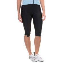 Canari Pro Tour Gel Cycling Knickers (For Women) in Black - Closeouts