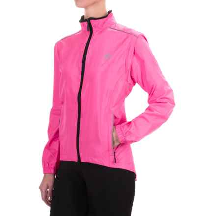 Canari Radiant Elite Jacket - Convertible (For Women) in Hot Pink - Closeouts