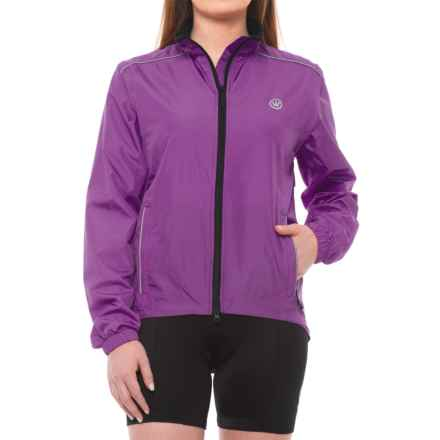 Canari Radiant Elite Jacket - Convertible (For Women) in Imperial Purple - Closeouts