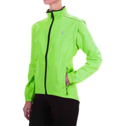 Canari Radiant Elite Jacket - Convertible (For Women) in Killer Yellow - Closeouts