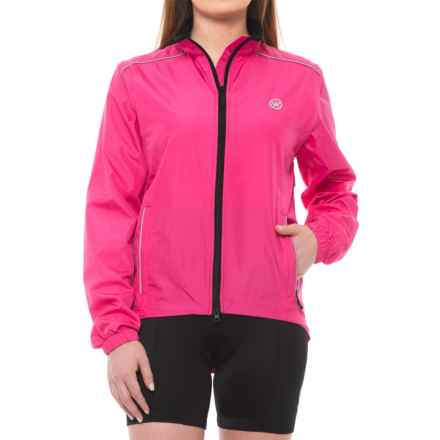 Canari Radiant Elite Jacket - Convertible (For Women) in Panther Pink - Closeouts