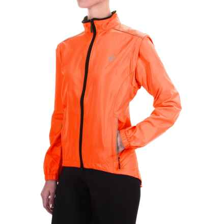 Canari Radiant Elite Jacket - Convertible (For Women) in Solar Orange - Closeouts