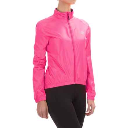 Canari Radiant Wind Shell Jacket (For Women) in Hot Pink - Closeouts