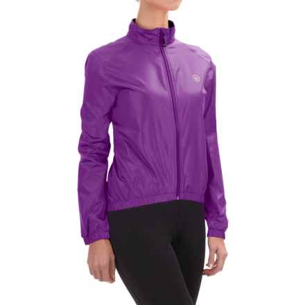 Canari Radiant Wind Shell Jacket (For Women) in Imperial Purple - Closeouts