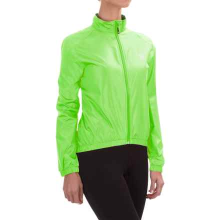 Canari Radiant Wind Shell Jacket (For Women) in Killer Yellow - Closeouts