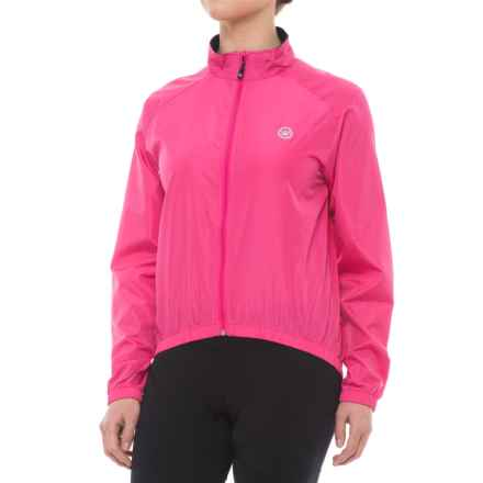 Canari Radiant Wind Shell Jacket (For Women) in Panther Pink - Closeouts