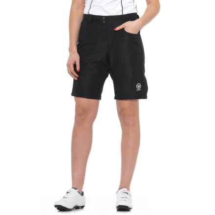 Canari Ramona Gel Baggy Cycling Shorts (For Women) in Black - Closeouts