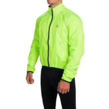 Canari Shower Jacket - UPF 35 (For Men) in Killer Yellow - Closeouts